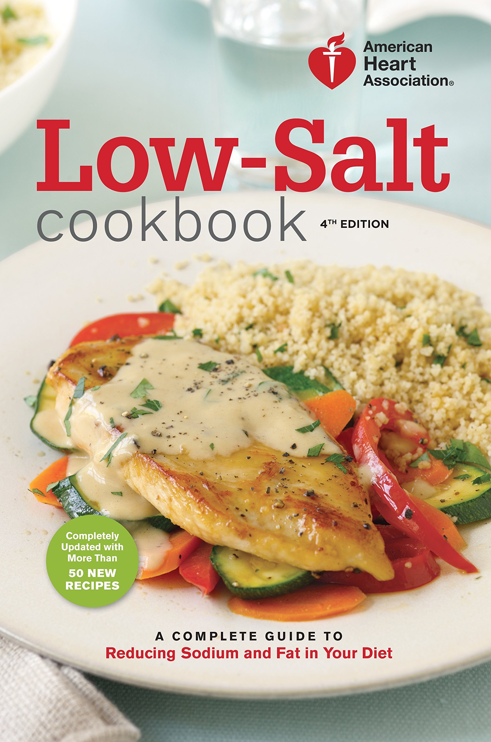 low sodium low fat diet book