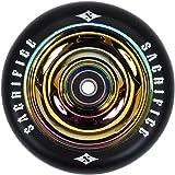 Sacrifice Oil Slick 110mm Alloy Core Scooter Wheel w/bearings - Neo Chrome by Sacrifice