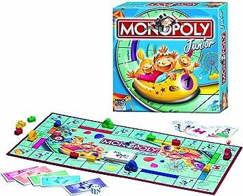 Parker - Hasbro Monopoly Junior MB: Amazon.es: Juguetes y juegos