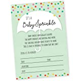 Amazoncom Baby Sprinkle Invitations Boy or Girl Gender Neutral