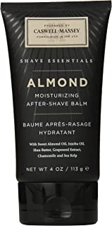 product image for Caswell-Massey Almond After Shave Balm – Soothing Aftershave With Jojoba And Shea, Made In USA, 4 Ounces
