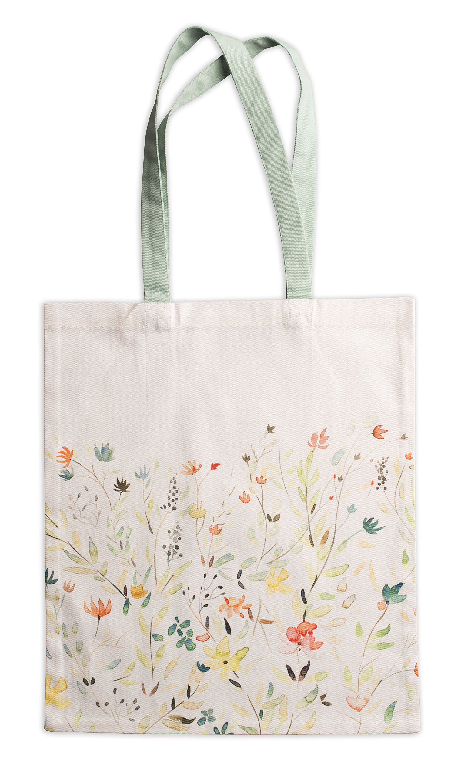 Maison d' Hermine Colmar 100% Cotton Tote Bag 14 Inch by 17 Inch