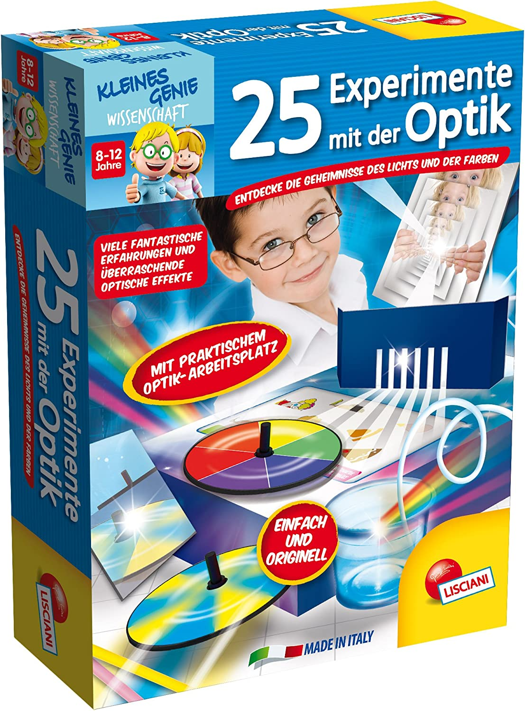 Lisciani 52684 – 25 Experimentos con El Aspecto, Juego: Amazon.es: Juguetes y juegos