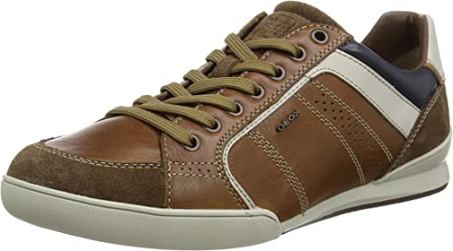 Geox Kristof A, Men's Trainers, Whisky