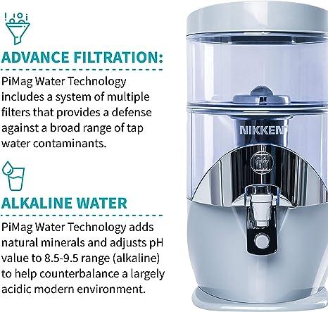 PiMag - Sistema de filtro purificador de agua potable – Cascada de ...