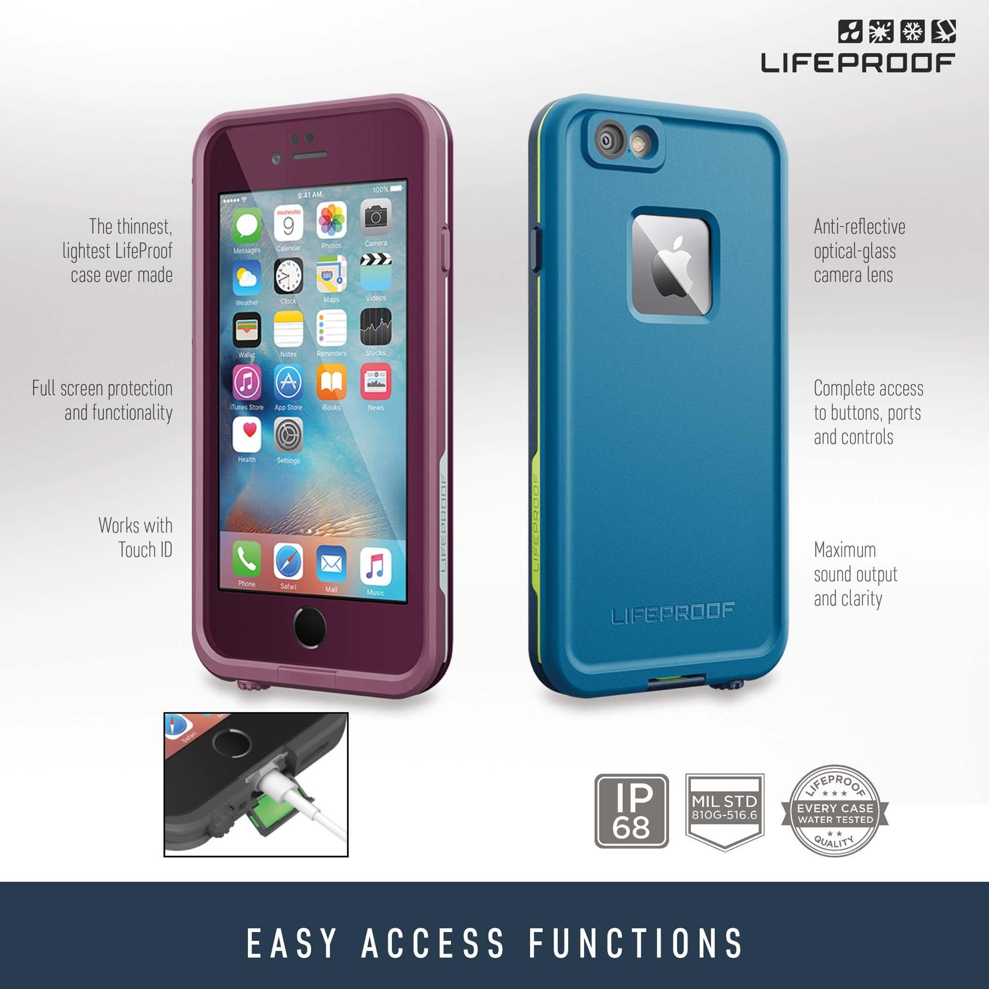 Lifeproof FRĒ SERIES iPhone 6/6s Waterproof Case (4.7'' Version) - Retail Packaging - BANZAI (COWABUNGA/WAVE CRASH/LONGBOARD) by LifeProof (Image #7)