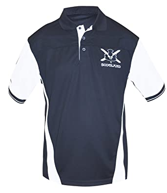 3a5bea491bb Croker Scottish Performance Shirt, Small - Polyester Short Sleeve Polo  Jersey