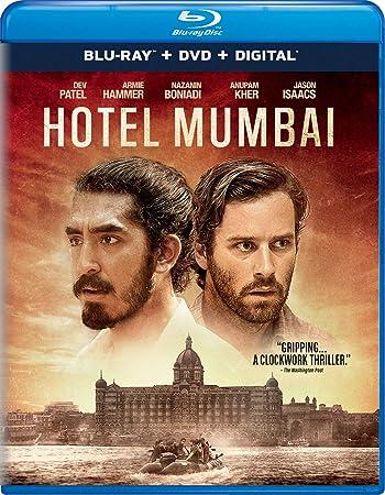 Poster of Hotel Mumbai 2018 Full Hindi Dual Audio Movie Download BluRay 720p