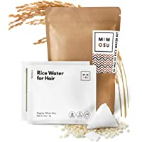 Rice Water for Hair Growth DIY Tea Bags, Natural Deep Conditioner & Detangler, Nourished Organic Rice Protein to Help…