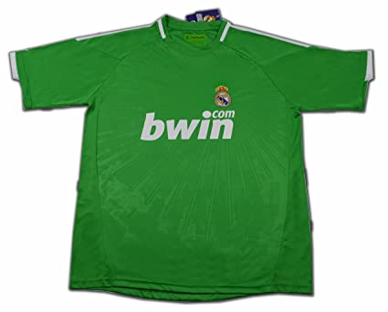 Camiseta del Real Madrid VERDE temporada 2011 TALLA XXL  Amazon.es ... 43f1b2f16e9a7