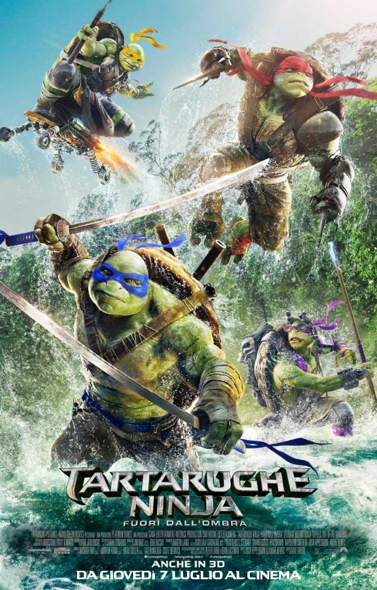 Tartarughe Ninja 2 - Fuori DallOmbra Ex-Rental Italia Blu ...