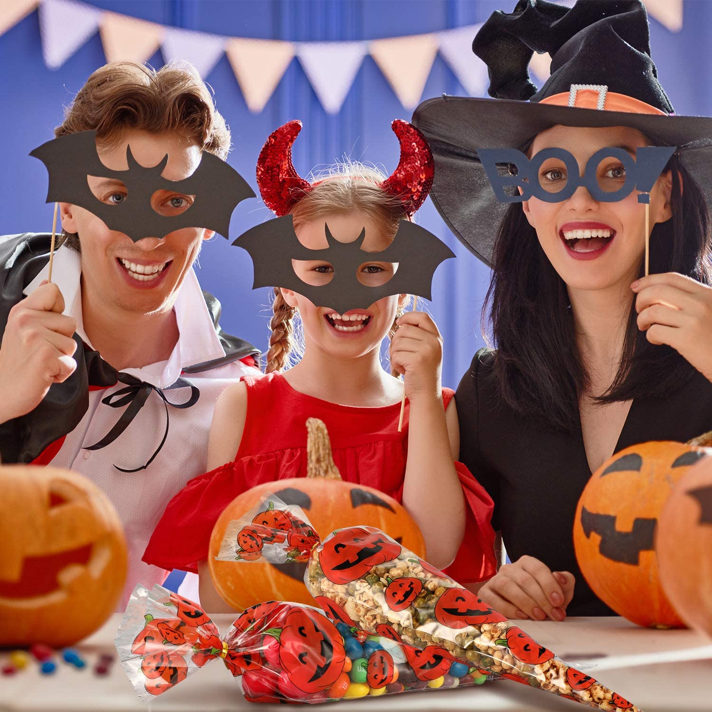 Elfen und Zwerge 3 x Tasche Beutel Spinne K/ürbis Hexe Kindergeburtstag Halloween Party