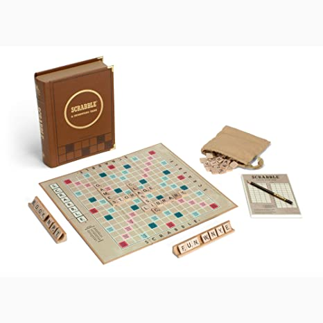 Limited edition typography scrabble for designers, typohiles and.