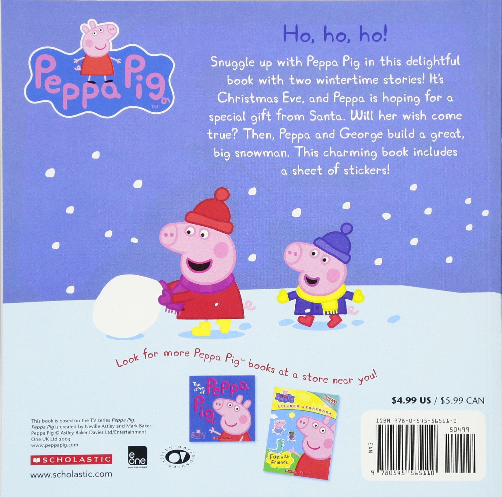 Peppas Christmas Wish (Peppa Pig): Amazon.es: Scholastic: Libros en idiomas extranjeros