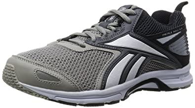 best service ae4b7 ec624 Reebok Triplehall 5.0, Chaussures de Running Entrainement Homme,  Gris Negro Blanco (