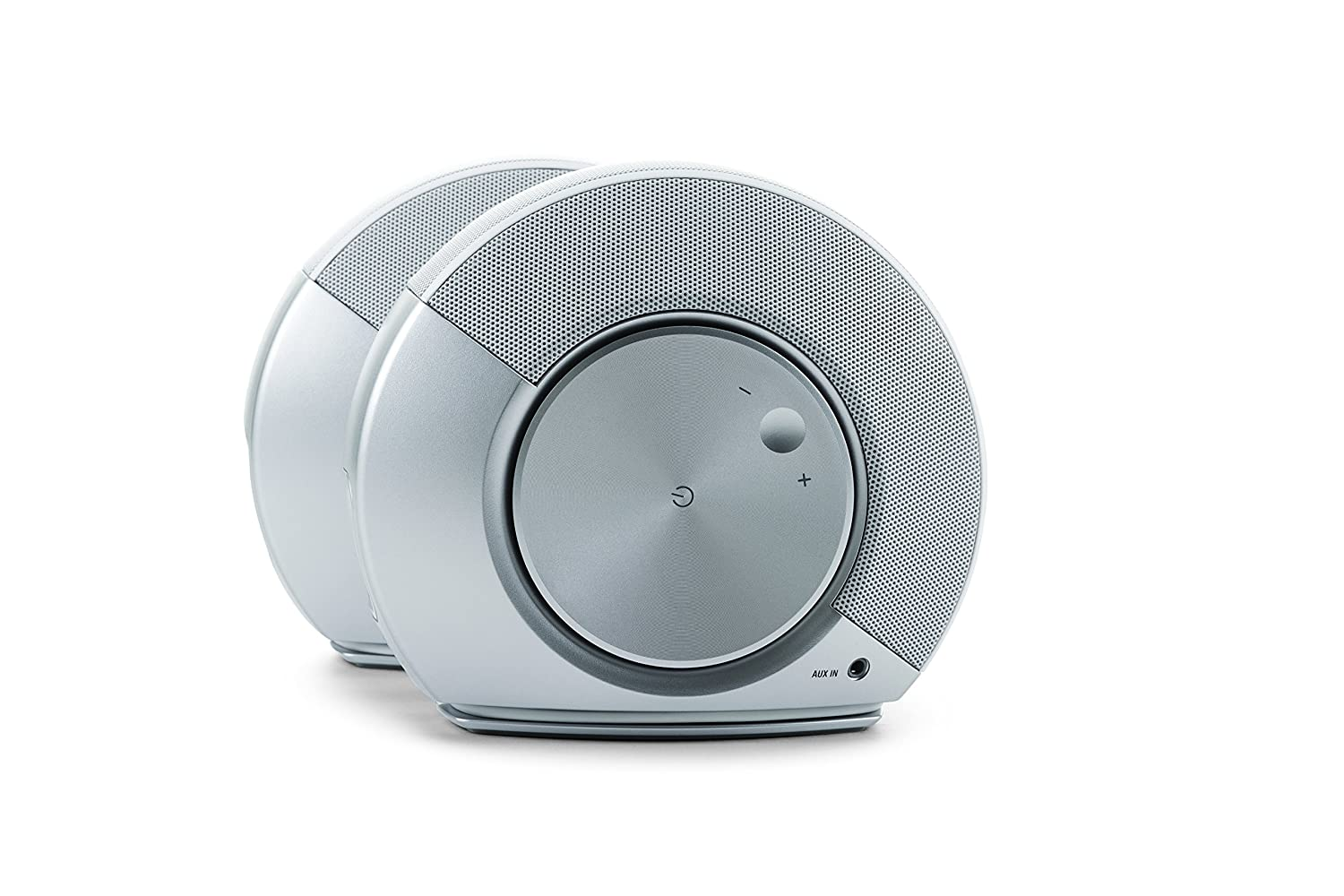 JBL Pebbles 2.0 Speaker System, Silver White 2 Pieces