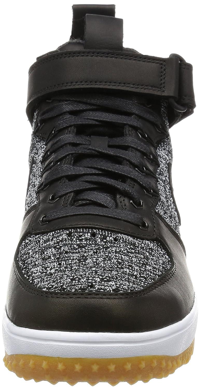 wholesale dealer 63bd0 01104 Amazon.com   Nike Lunar Force 1 Flyknit Workboot Mens Boots c 855984 (8,  BLACK WHITE-WOLF GREY)   Fashion Sneakers