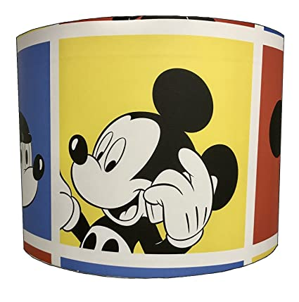 203cm retro mickey mouse childrens lampshade for a table lamp 203cm retro mickey mouse childrens lampshade for a table lamp aloadofball Choice Image