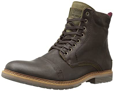 Steve Madden Men's Sargge Winter Boot, Dark Brown, ...