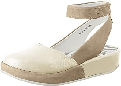 Fly London Femme Bobi Violet Daim Ballet Pumps Chaussures