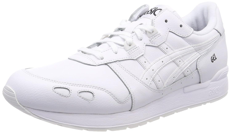 Asics Gel-Lyte, Zapatillas de Gimnasia para Hombre 39.5 EU|Blanco (White/White 0101)