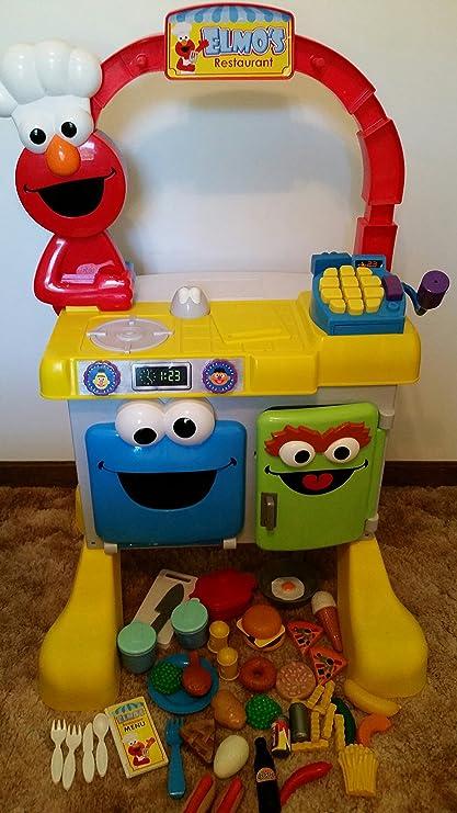 Amazon.com: Fisher-Price Elmo\'s Restaurant: Toys & Games