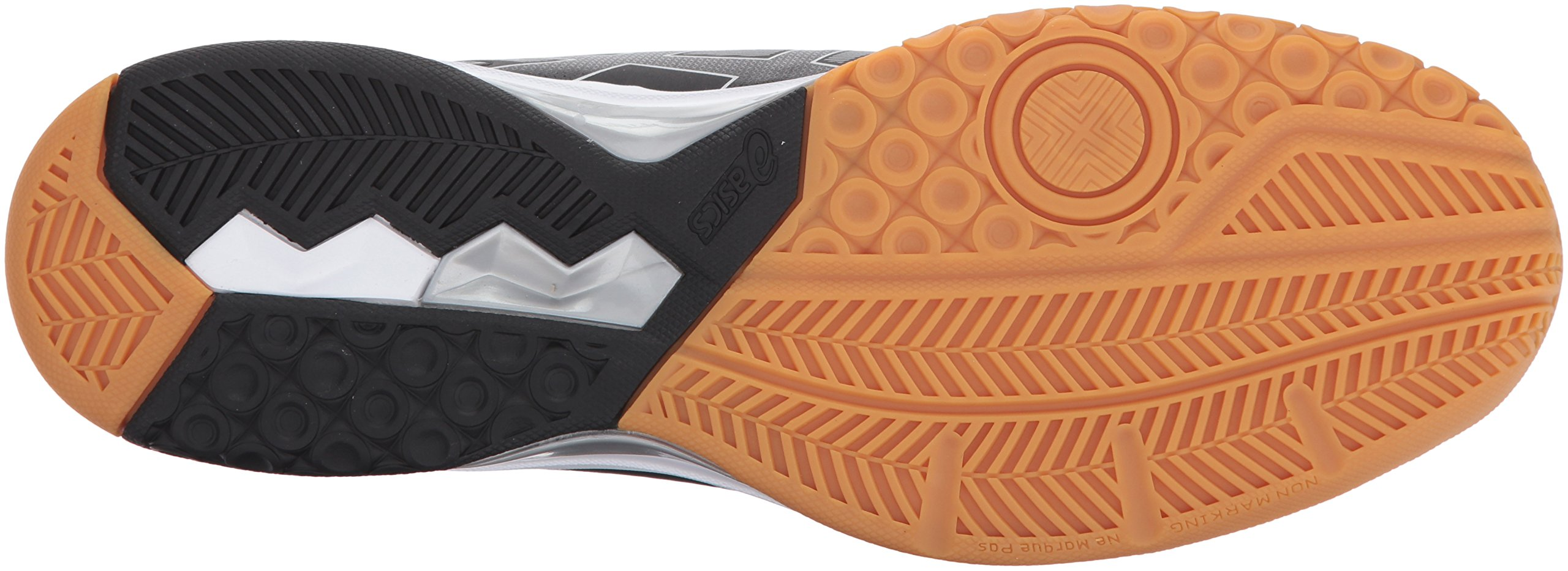 ASICS Mens Gel-Rocket 8 Volleyball Shoe Black/White, 7 Medium US by ASICS (Image #3)
