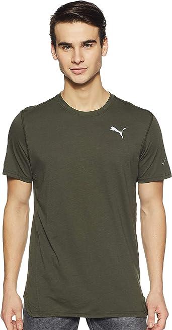 PUMA Triblend - T-Shirt Hombre: Amazon.es: Ropa y accesorios