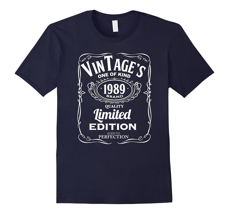 27th Birthday Vintage 1989 Limited Edition T-shirt-Art