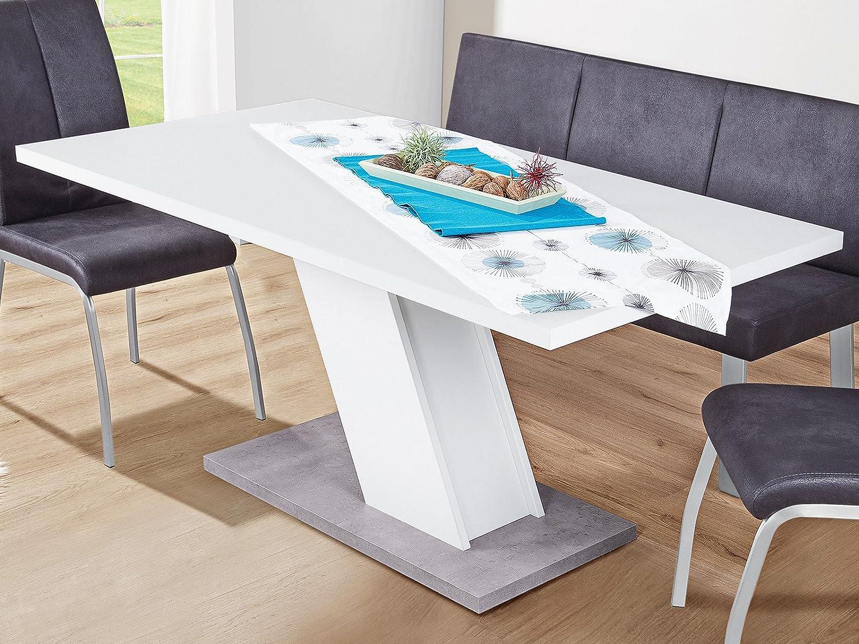 Mobelando Dining Table Kitchen Table Dinner Table Wooden Table Elbert I Amazon De Kuche Haushalt