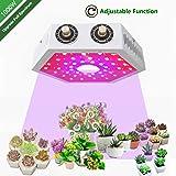 LED Grow Light Full Spectrum Grow Lamp 1000W, Adjustable, led Grow Strip Lights for Indoor Plants Plant Grow Lamp for Indoor Hydroponics Plants Veg Flowers