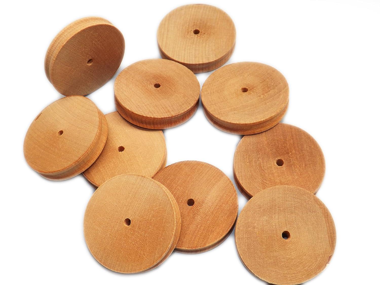 Birch Hardwood Wooden Balls for art Pack of10 craft 40mm potpourri etc