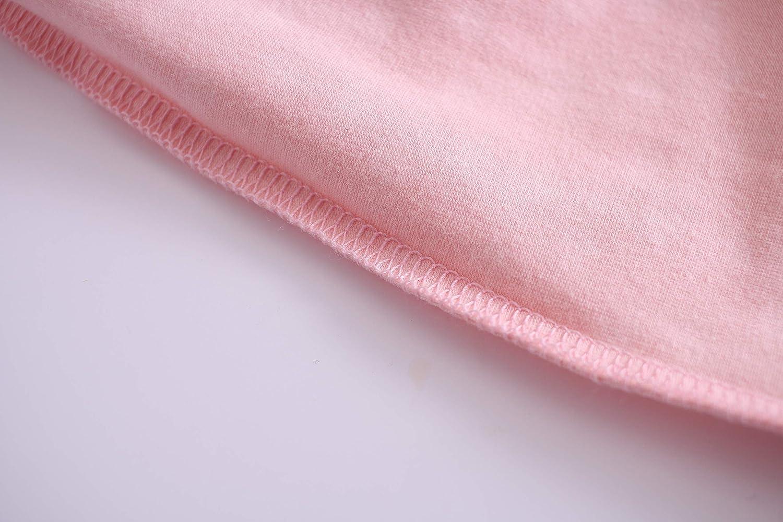 Allmeingeld Girls Princess Nightgowns Heart Print Sleep Shirts Cotton Sleepwear for 3-12 Years