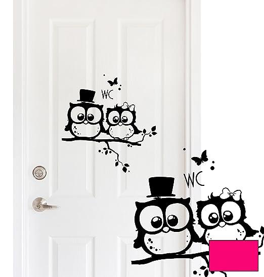 Inodoro Pegatina para puerta de cartel para puerta ...