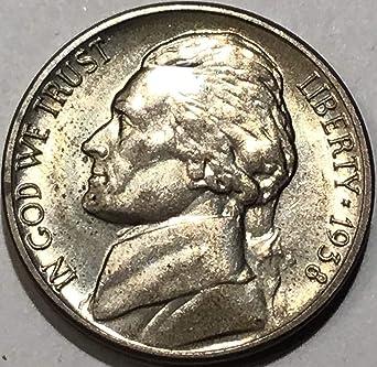 "With Mint /""Luster/"" 1944-P Silver Jefferson War Nickel Gem BU"
