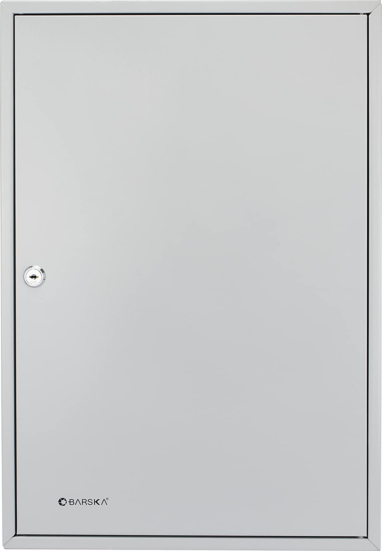 BARSKA 240 Position Key Lock Box with Key Lock Grey