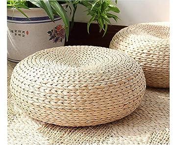 Amazon.com: Eyestar - Cojín de estilo japonés tejido a mano ...