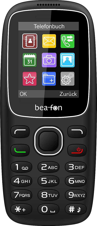 Beafon C65 Handy 1 77 Zoll Schwarz Elektronik