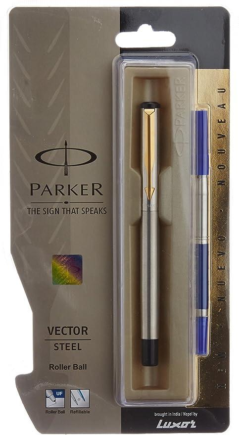 100/% Original Parker Vector Gold GT Ball Pen BallPen Brand New Sealed
