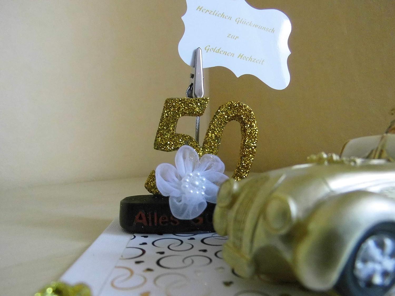 Dekoration Geldgeschenk Geschenk Goldene Hochzeit Goldhochzeit