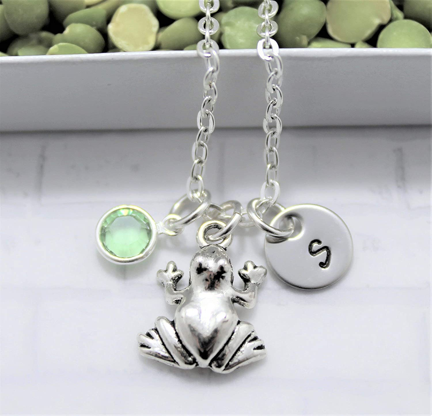 Frog Mom Necklace  Frog Mom Pendant  Laser Cut Wood  Amphibian Jewelry  Anthropomorphic Frog  Frog Mom Gift