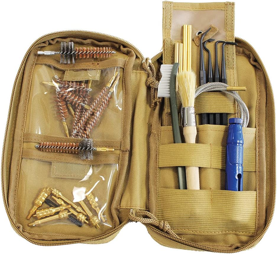 Birchwood Casey Portable Shooting Range Cleaning Kit - Rifle & Handgun Supplies