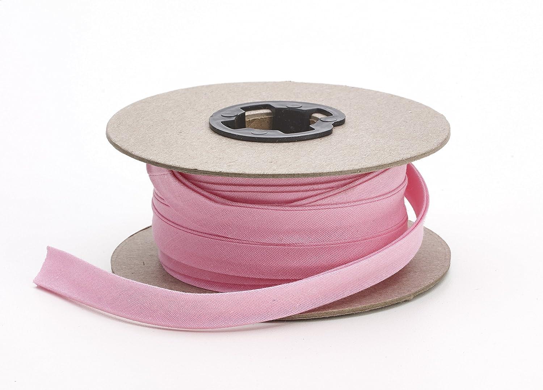 Pearl 1/2 Wide Broadcloth Double Fold Bias, 15 yd, Pink Pearl Trim 72-050-9223-15