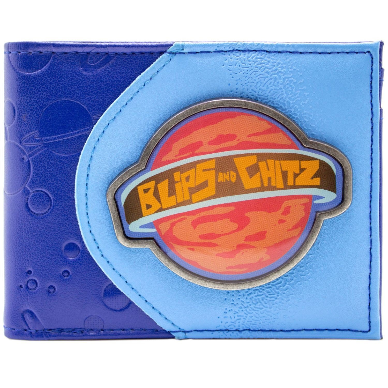 Cartera de Rick and Morty Blips and Chitz Mortynight Run Azul 30323