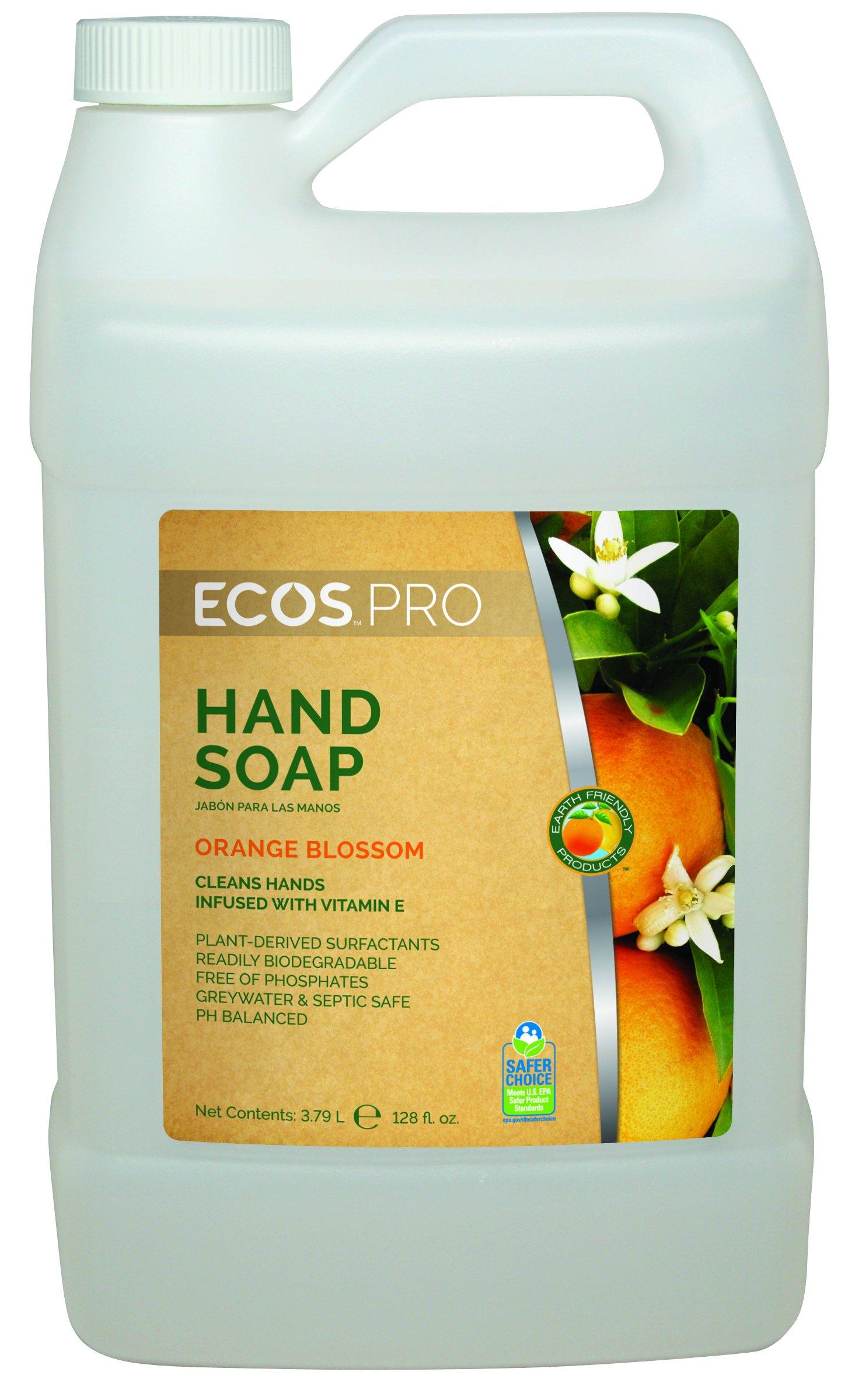 ECOS PRO PL9484/04 Hand Soap, Orange Blossom (Pack of 4)