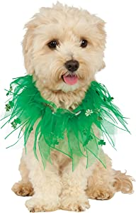 Rubies St. Patrick's Day Fancy Collar Dog Costume