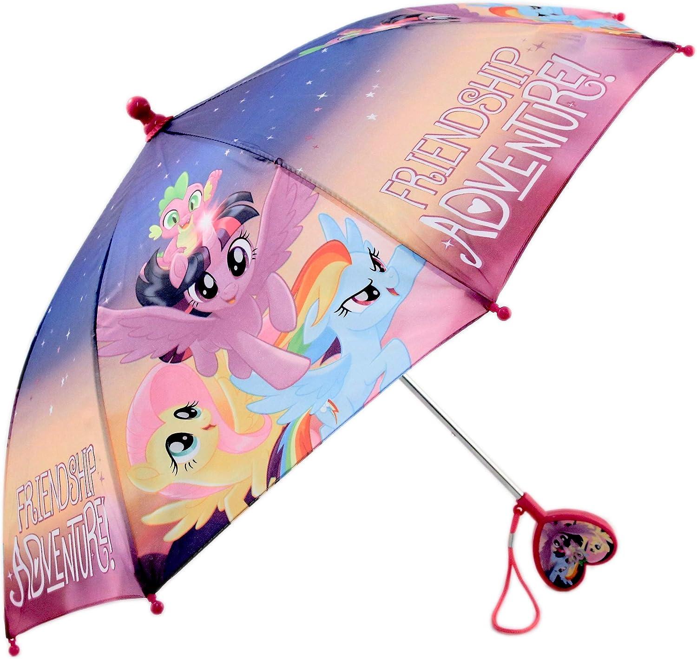 Hasbro Little Girls My Little Pony Character Rainwear Umbrella, Ages 3-7