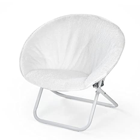 Amazon.com American Kids Faux Fur Kids Saucer Chair White Toys u0026 Games  sc 1 st  Amazon.com & Amazon.com: American Kids Faux Fur Kids Saucer Chair White: Toys ...