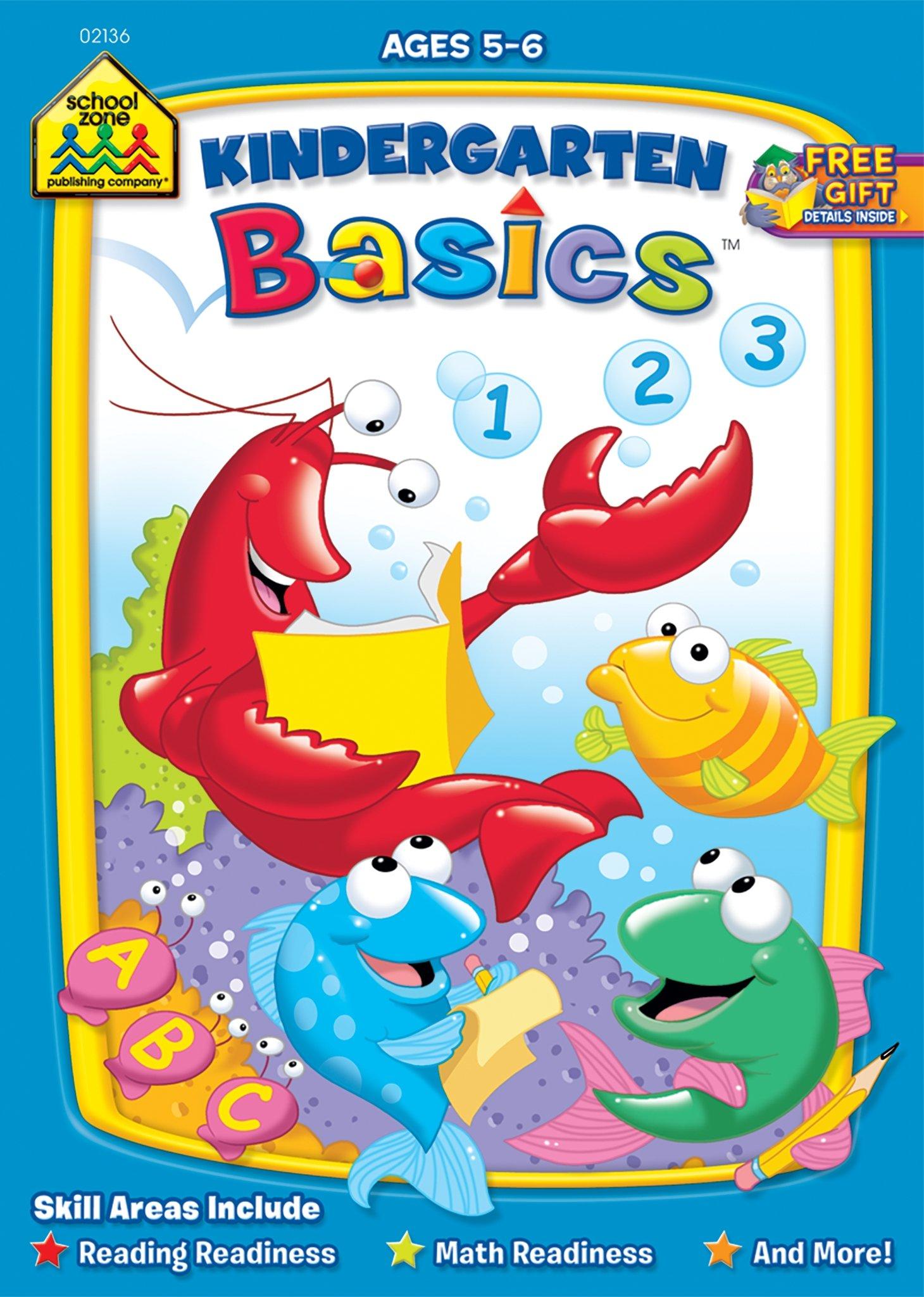 Download Kindergarten Basics Workbook Ages 5-6 ebook