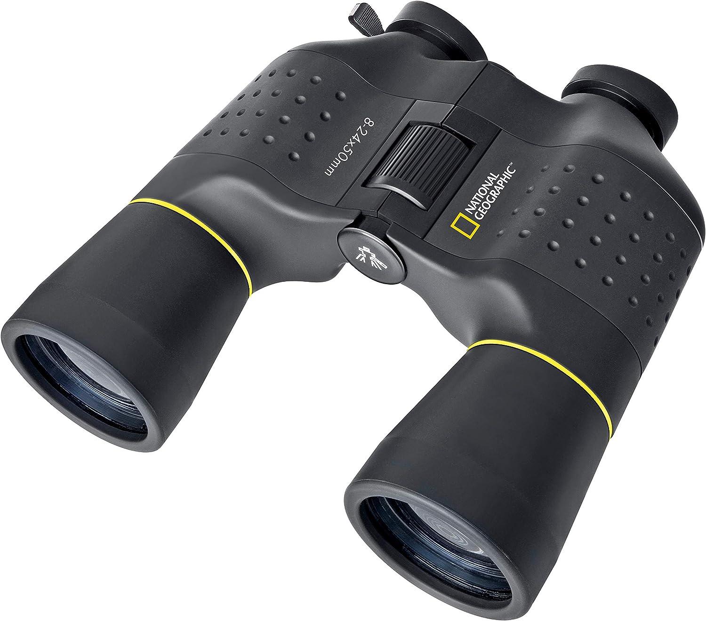 National Geographic Zoom Fernglas 8 24x50 Mit Kamera